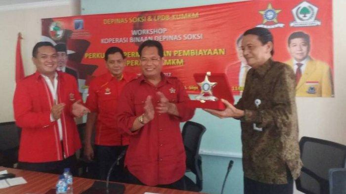 Pengurus Koperasi Karyawan UMKM Se-Jabodetabek Ikut Workshop Soksi-LPDB
