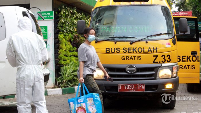 Sekelumit Kisah Awak Bus Sekolah Bantu Evakuasi Pasien Covid-19: Dehidrasi Hingga Kekurangan Oksigen