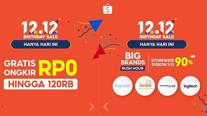 Puncak Shopee 12.12 Birthday Sale Tawarkan Promo dan Acara yang Penuh Hadiah, Catat Waktunya