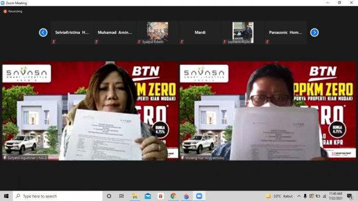 Genjot Kredit Properti, BTN Gandeng Pengembang Perumahan Savasa