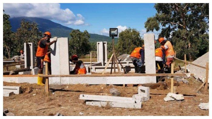 1000 Unit Rumah Korban Gempa NTT Ditargetkan Rampung Akhir September