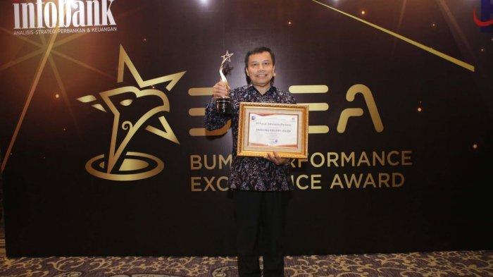 Serius Dongkrak Daya Saing, Pupuk Indonesia Raih Level Emerging Industry Leader
