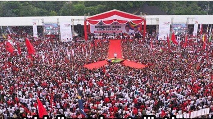 Purnawirawan TNI Bongkar Fakta Lain Kampanye Jokowi yang Membeludak, Sebut Drone Bakal Dilarang