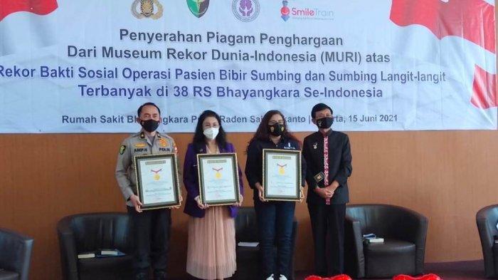 Pusdokkes Polri, Perapidan Yayasan Smile Train Indonesia Lakukan Operasi Bibir Sumbing ke 750 Anak