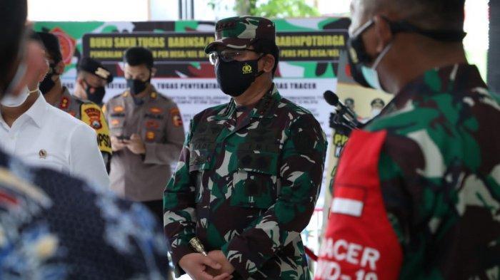 Panglima TNI: Nakes dan Babinsa Tulang Punggung Perang Lawan Covid-19, Tidak Boleh Sakit