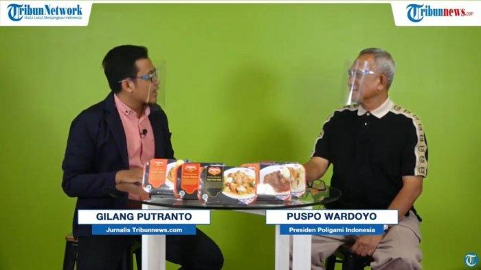 Pengusaha Puspo Wardoyo dalam program Ngaso bersama TribunSolo.com, Rabu (21/10/2020)