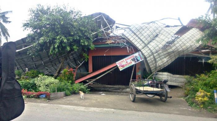 79 Rumah di Deliserdang Diterjang Puting Beliung, 7 Roboh