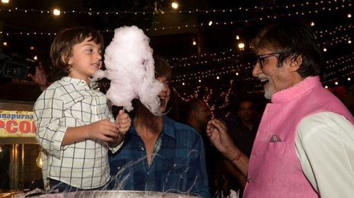 Putra bungsu Shah Rukh Khan, AbRam Khan mengira Amitabh Bachchan sebagai kakeknya
