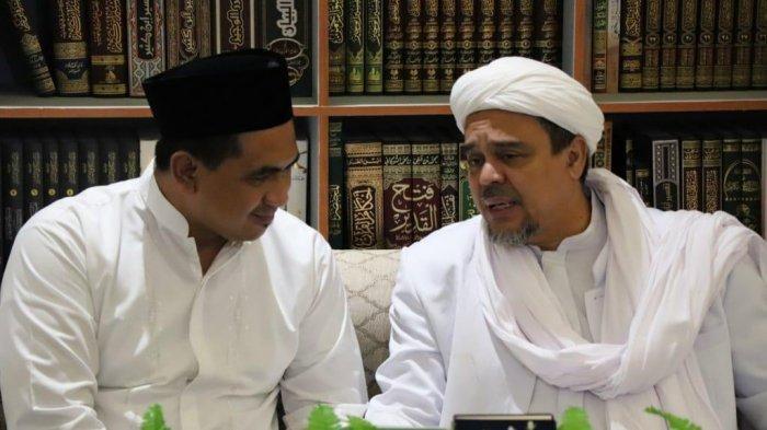 Putra Mbah Moen temui Habib Rizieq