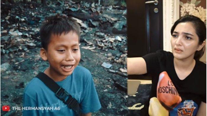 Putra Nangis Tas Hadiah dari Arsy Ludes Terbakar, Ashanty Syok Lihat Rumah Hangus: Syukur Kamu Sehat