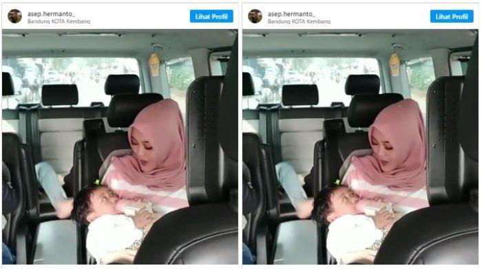 Digendong Putri Delina, Begini Kondisi Bayi Mendiang Lina Mantan Istri Sule