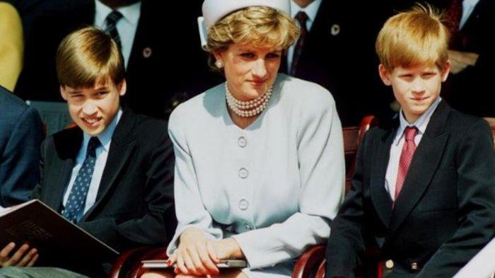 Isi Percakapan Terakhir Putri Diana dan Temannya sebelum Meninggal: Ingin Bertemu William dan Harry