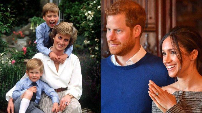 Meghan Markle dan Pangeran Harry tak lagi menggunakan gelar kerajaannya. Hal ini juga dialami Putri Diana setelah bercerai dari Pangeran Charles.