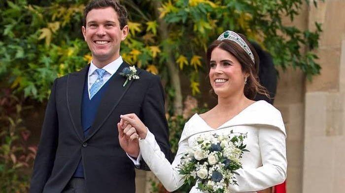 Putri Eugenie dan Jack Brooksbank menikah