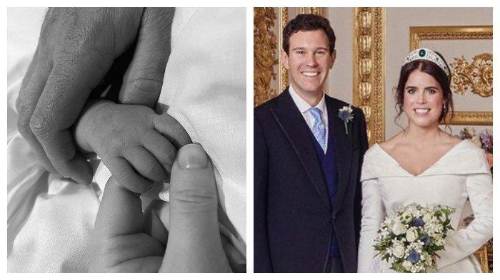 Putri Eugenie dan suaminya Jack Brooksbank baru saja menyambut kelahiran anak pertama mereka