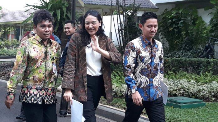 Dapat PR dari Presiden Jokowi, Stafsus Milenial Putri Tanjung Semangat Dorong UMKN Naik Kelas