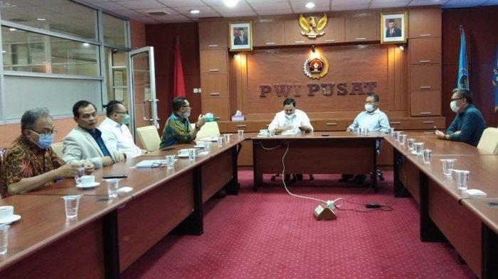 PWI Pusat Menerima Kunjungan Perkumpulan Komunitas Hipnotis Indonesia