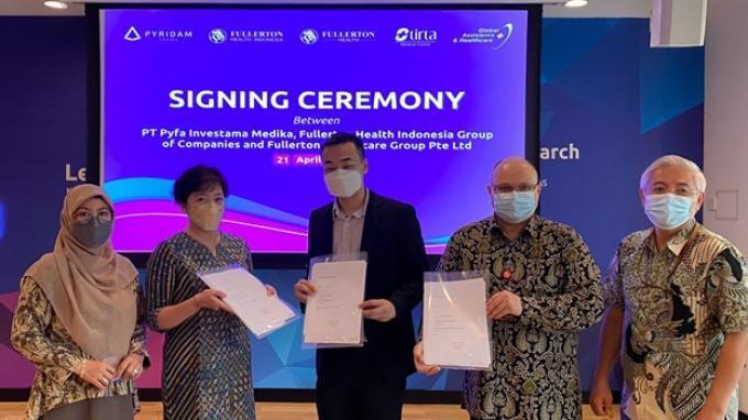 Anak Perusahaan Pyridam Farma Tbk Jadi Pemilik Saham Minoritas Fullerton Health Indonesia Group