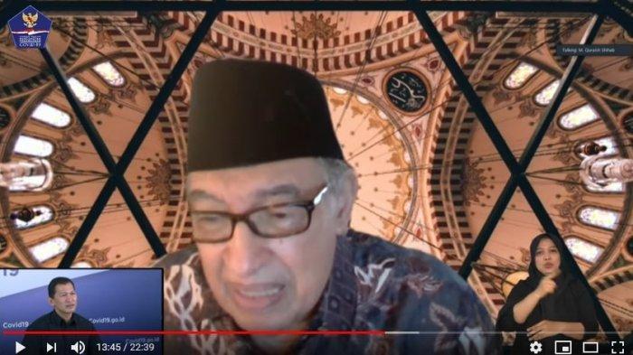 Ulama Quraish Shihab tentang ibadah di rumah
