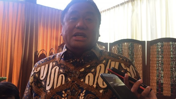 Rachmat Gobel saat ditemui di kawasan Menteng, Jakarta Pusat, Sabtu (8/9/2018).