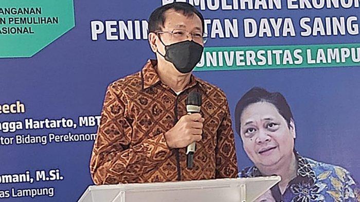 Sekretaris Eksekutif I Komite Penanganan COVID-19 dan Pemulihan Ekonomi Nasional (PC-PEN) Raden Pardede