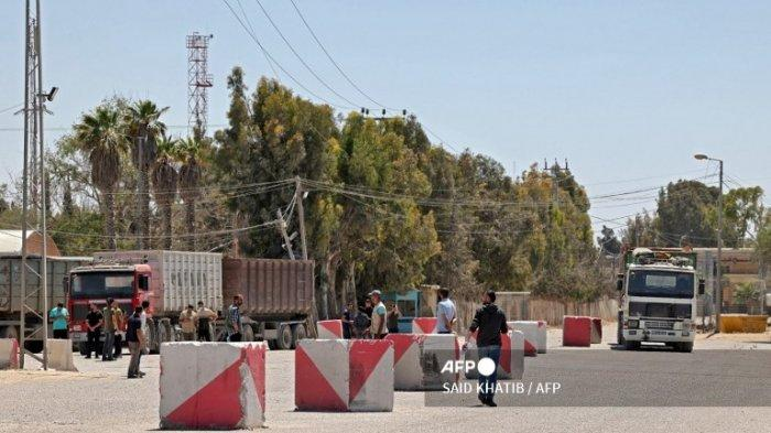 Israel Kembali Tutup Perbatasan Gaza dan Hentikan Pengiriman Bantuan Internasional
