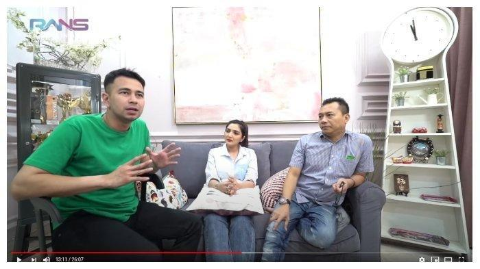 Percakapan Raffi Ahmad, Ashanty, dan Anang Hermansyah dalam channel YouTube Rans Entertaiment, Kamis (18/6/2020).