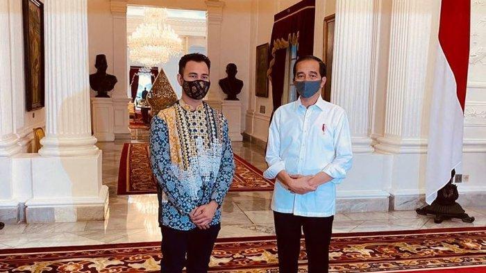 Raffi Ahmad Bertemu Presiden Jokowi di Istana, Begini Wejangan yang Ia Dapatkan soal Acaranya