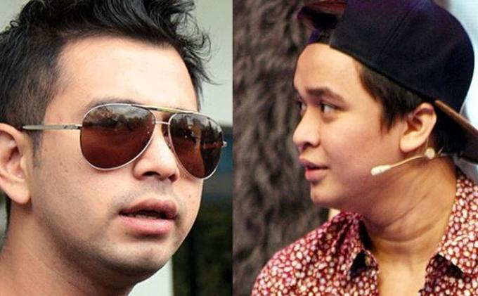 Raffi Ahmad dan Billy Syahputra