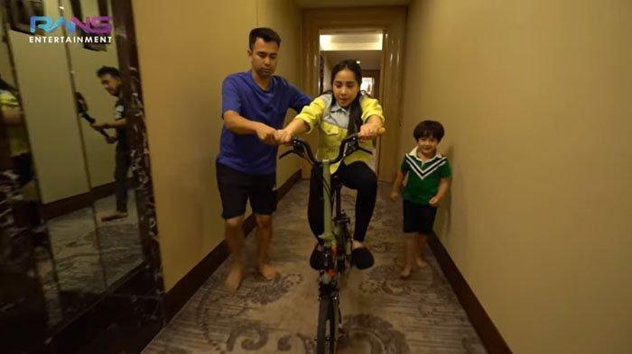 Nagita Slavina Cuek Dikasih Sepeda Rp 100 juta, Raffi Ahmad Ubah Brompton Jadi Roda Empat