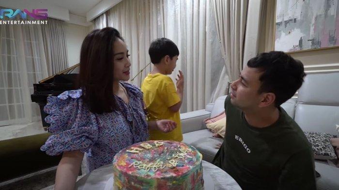 Raffi Ahmad dan Nagita rayakan hari ulang tahun bersama