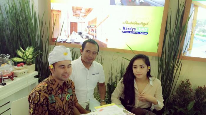 Malam Ini Raffi Ahmad Bawa Istri Menengok Lokasi Villa yang Dibelinya di Bali