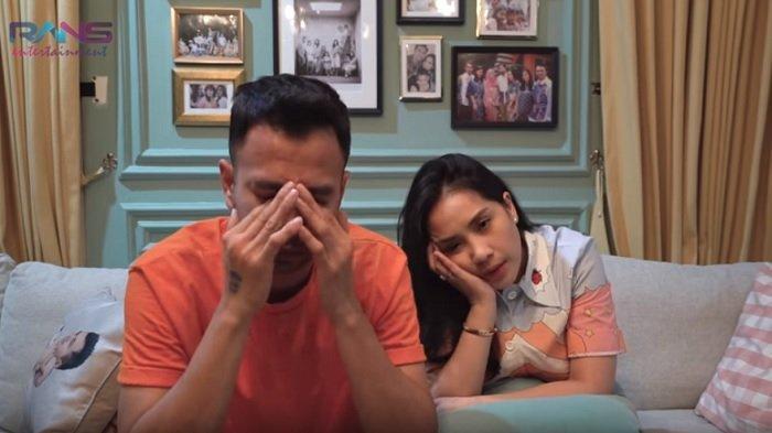 Raffi Ahmad dan Nagita Slavina di Youtube Rans Entertainment