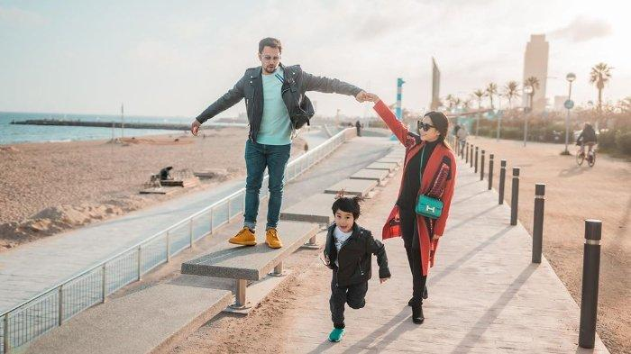Raffi Ahmad dan Nagita Slavina kini tengah menikmati liburan di Spanyol.