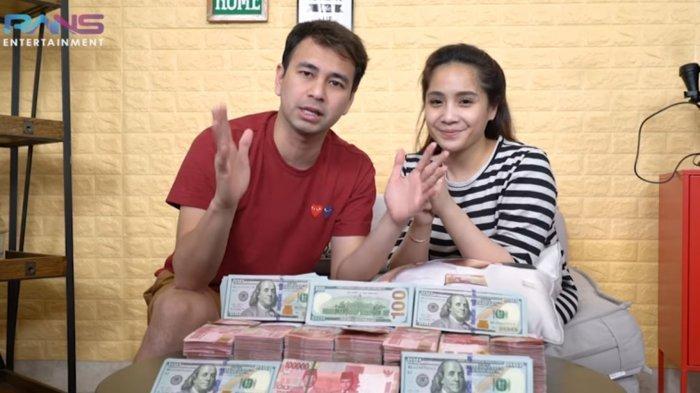 Raffi Ahmad Nagita Slavina bagikan hadiah miliran, malah dituding penipuan, kru Rans Entertainment langsung murka