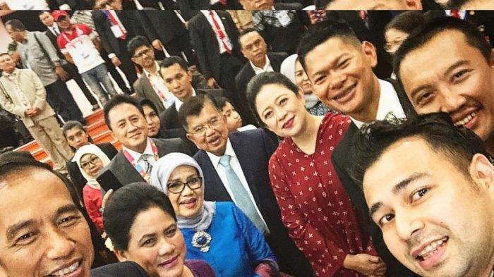Raffi Ahmad Jadi Host Asian Para Games 2018 hingga Foto Bareng Jokowi, Begini Peran Nagita Slavina