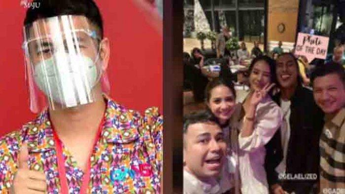 Raffi Ahmad kedapatan keluyuran dan berkerumun dengan rekan-rekan artisnya tanpa menggunakan masker beberapa jam usai divaksin covid-19 di istana. Hal itu diketahui dari tangkapan layar IG Stories Anya Geraldine yang dibagikan warganet.