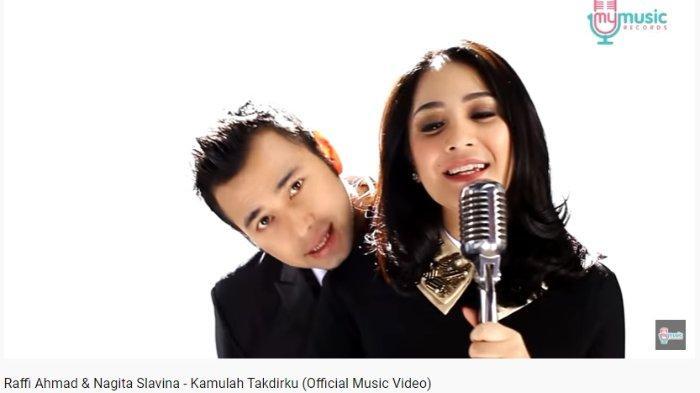 Download Lagu Kamulah Takdirku Raffi Ahmad dan Nagita Slavina, Lengkap dengan Lirik