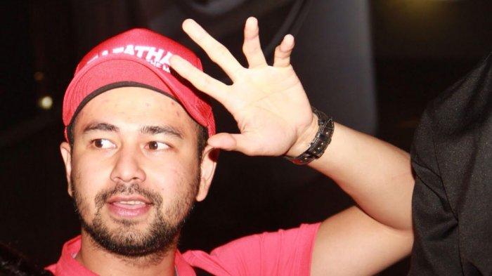 Raffi Ahmad ditemui di acara jumpa pers film Rafathar di kawasan Gandaria, Kebayoran Lama, Jakarta Selatan, Minggu (9/7/2017).