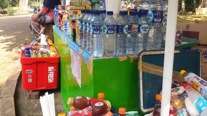 Libur Lebaran Tidak Terlalu Menuntungkan Bagi Pedagang di Ragunan