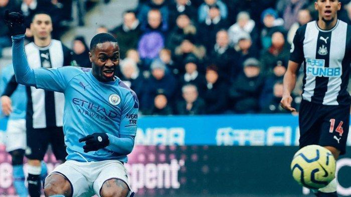 Jelang Manchester City vs West Ham Liga Inggris, Raheem Sterling Diragukan Tampil