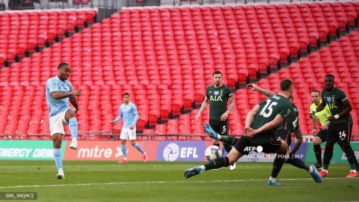 Man City Juara Piala Liga Inggris Empat Musim Beruntun, Mesut Oezil Ledek Tottenham Hotspur