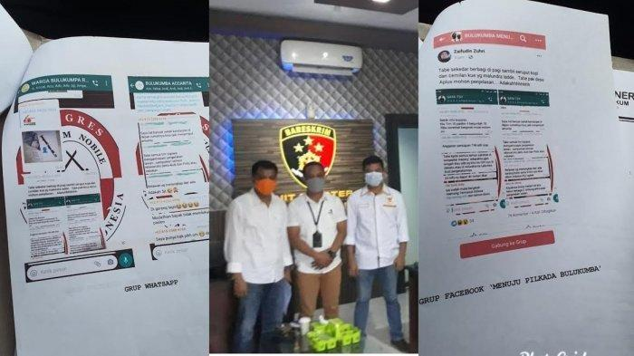 Kades di Bulukumba Dilaporkan ke Polisi Gara-Gara Sebar Hoax Terkait Pemilihan Bupati