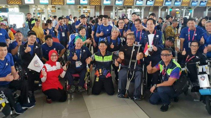 Pelepasan Kontingen Asian Para Games 2018 Diwarnai Tangis Haru hingga Flash Mob