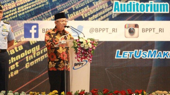 Wapres Ma'ruf Minta BPPT Kembangkan Teknologi Tepat Guna untuk Masyarakat