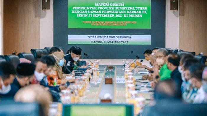 Komite III DPD RI Siap Dukung Sumut Membangun Stadion Terbesar Ketiga di Asia Tenggara