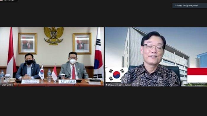 Dubes Korsel Sambut Baik Keinginan DPD RI Perkuat Kerja Sama dengan Majelis Nasional Korea