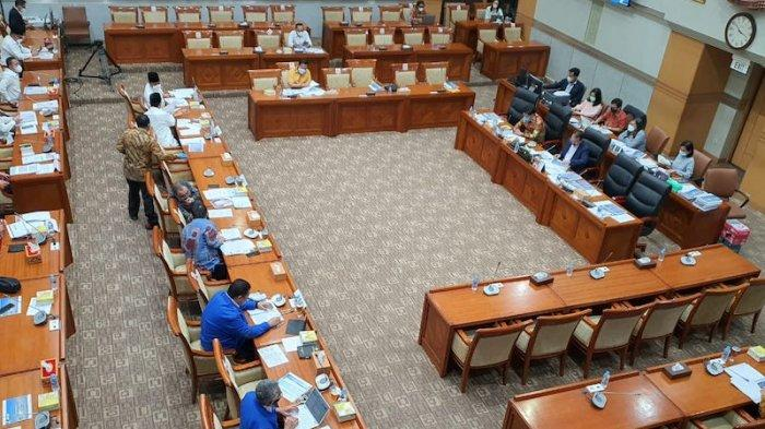 BNN-LPSK-BNPT Sampaikan Usulan Tambahan Anggaran 2022 ke Komisi IIIDPR