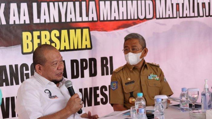 Raker dengan Gubernur, LaNyalla Paparkan Strategi DPD RI Dukung Pemulihan Sulbar