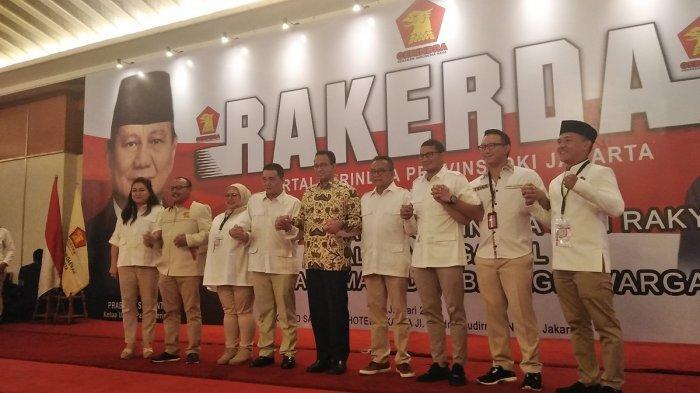 Rakerda Gerindra Jakarta Soroti Pemindahan Ibu Kota ke Kalimantan Timur